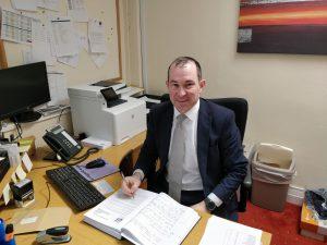 Principal Brendan Waldron